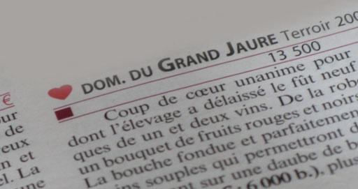 Coup de coeur Guide Hachette Rosette