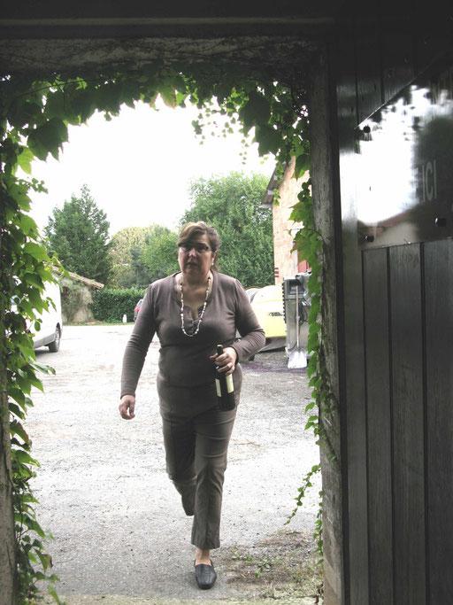 Bernadette Baudry à Pécharmant