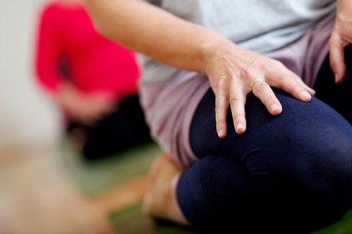 Iyengar Yoga bewegt, Stille, Meditation