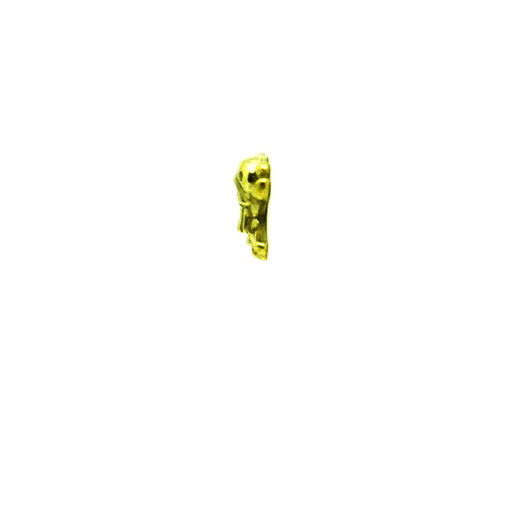 funny skull S material : BRASS color :  Polished size : 12mm x 10mm x 4mm