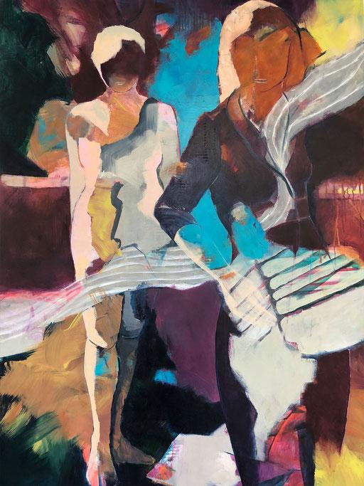 Acryl auf Leinwand, 2018, 140 x 100 cm