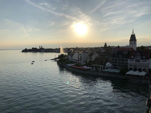 Friedrichshafen, Abendstimmung, Sonne, Bodensee, #outdoorfn