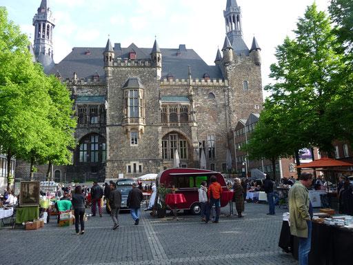 Trödelmarkt Aachen Altstadt - ein sehr schöner Platz!