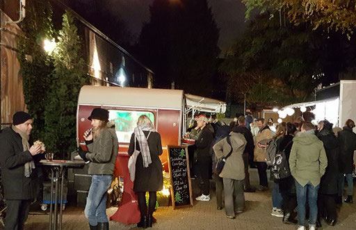 Mampf - veganer Adventsbasar im zakk in Düsseldorf 2018 - super schön und tolle Atmosphäre!