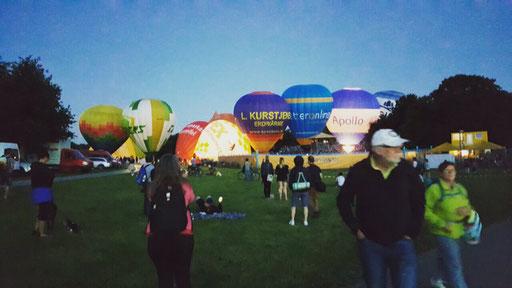 Ballonfestival Rheinaue Bonn 2017
