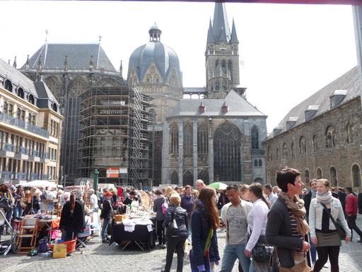 Trödelmarkt Aachen Altstadt - sehr schönes Ambiente!