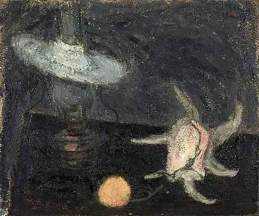 貝を配する静物 1970年代