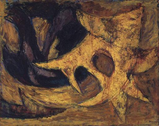 根っこによる作品A  1962年