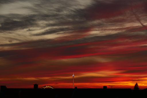 Sonnenuntergang Aschaffenburg - Christopher Nebel Fotografie