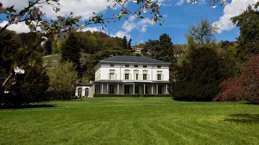 Chaplin's Villa in Corsier sur Vevey