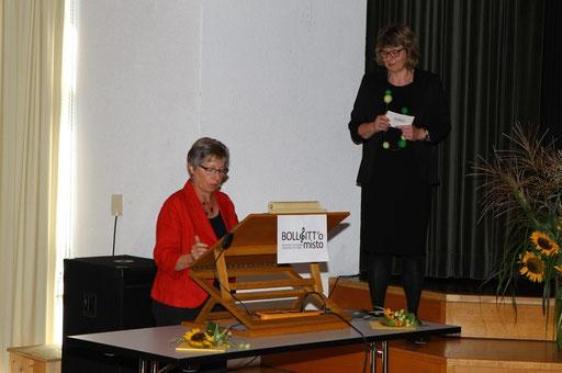 Grusswort der Chorvereinigung Bern und Umgebung CVBU, Helene Röthlisberger, Präsidentin