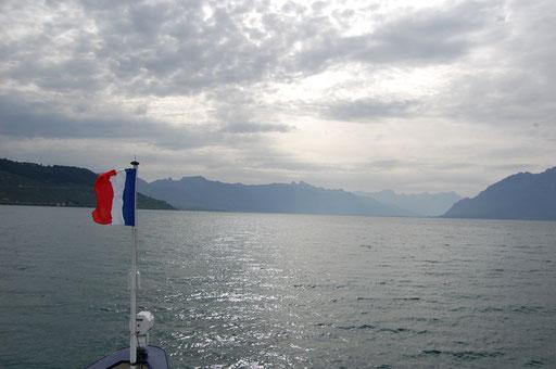 auf dem Lac Léman