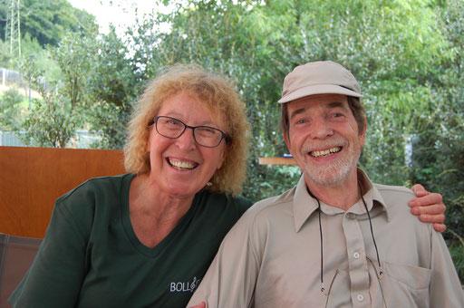 Reiseleiter Romy und Beat Schläfli