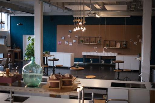 Eventlocation, Kochschule, Hochzeitslocation in Hamburg, Trend Studio & Loft Wandgestaltung Neu