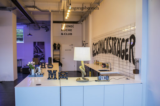 Eventlocation in Hamburg, Trend Studio & Loft ,Tresen und Bar