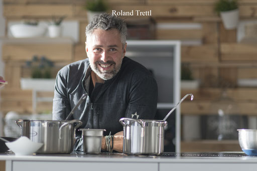 Eventlocation, Kochschule in Hamburg Trend Studio & Loft, gern gesehener Gast, Roland Trettl