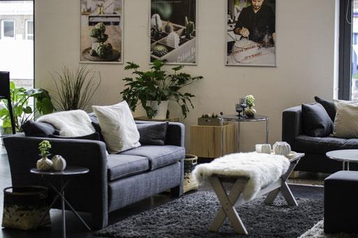 Trend Studio & Loft unsere Lounge-Ecke