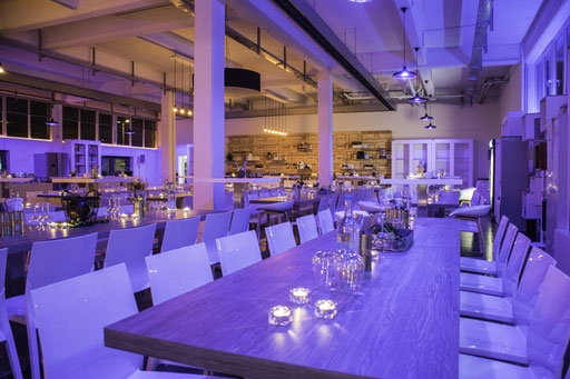 Eventlocation, Abendlocation in Hamburg Trend Studio & Loft, Bild mit Ambientelicht