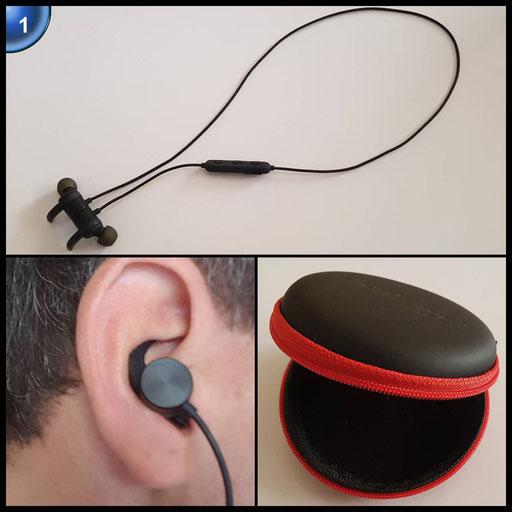 SenboweTM Magnetisch Bluetooth Kopfhörer, Kabellos