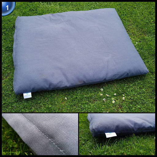 Meditationsmatte »Zabuton« / 100% Baumwolle / Abmessung: ca. 80 x 90 x 4 cm / gefüllt mit hochwertigem Baumwollvlies