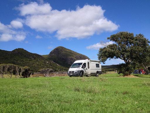 Kapowairua DOC camping