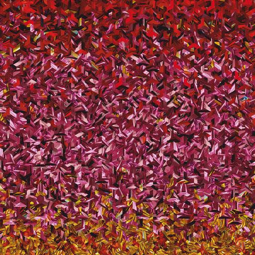 Ybytu Nr. 2 | 1.00 x 1.00 m | Fotocollage digital auf Hahnemühle FineArt Papier | Auflage 5 Stück