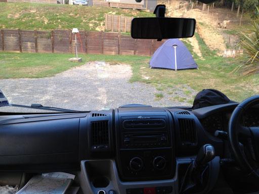 strom im zelt: soviel luxus muss sein :) / electricity in the tent: pure luxury ;)