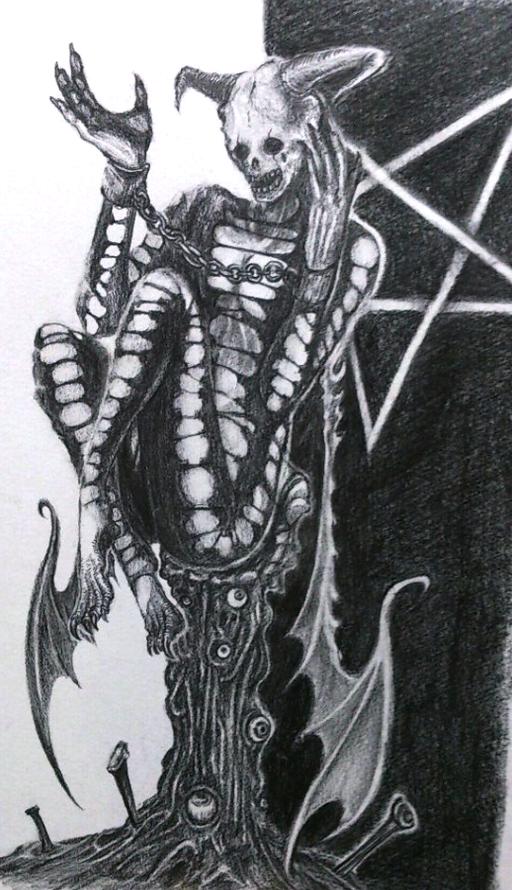 NO.15 悪魔 人の心はなんて美しいのだろう。うっとりするよ。ここに人なんていないのだけど。