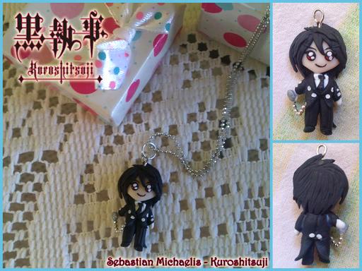 Sebastian Michaelis, dall'anime Kuroshitsuji, alto 3 cm! 20*