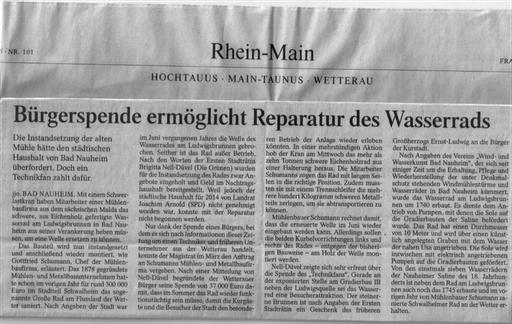 Frankfurter Allgemeine Zeitung, 02. Mai 2015