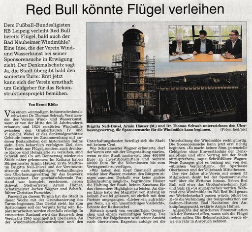 Wetterauer Zeitung, 28. April 2017