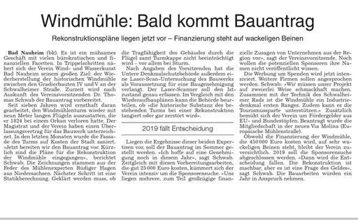 Wetterauer Zeitung, 06. März 2018