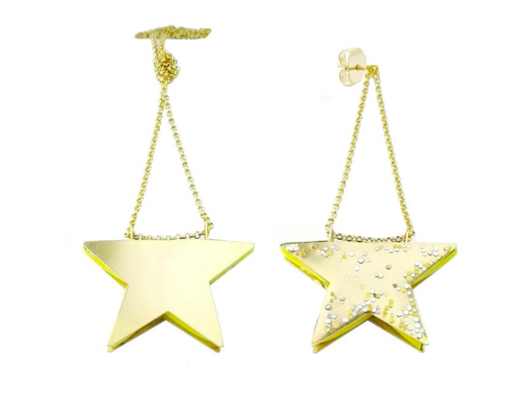 ANMICOLLECTIONS stars earrings