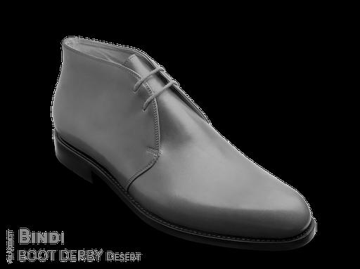 klassischer Maßschuh Derby Boot - schlichte einfache Stiefelette