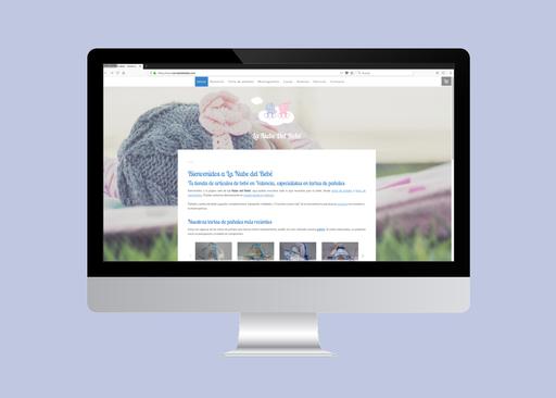 La Nube del Bebé: tienda de muebles especializada en artículos de bebé y tartas de pañales