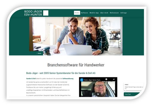 EDV-Hunter Bodo Jäger - Branchensoftware für Handwerker