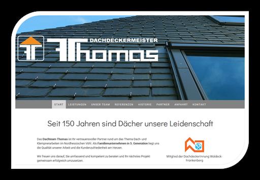 Dachdecker Thomas aus Vöhl