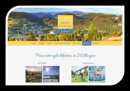 Hotel Pension Weidenhagen Willingen