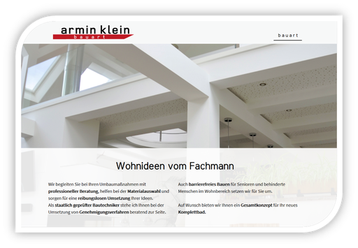Bauart Armin Klein Bautechniker
