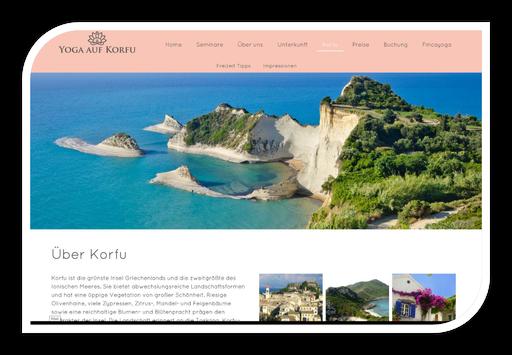 Yoga auf Korfu mit Julia Backhaus