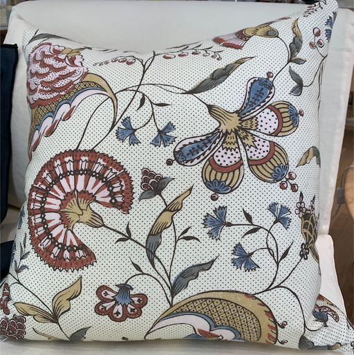 Antionette Poisson, cushion in Jaipur in 50 x 50cm