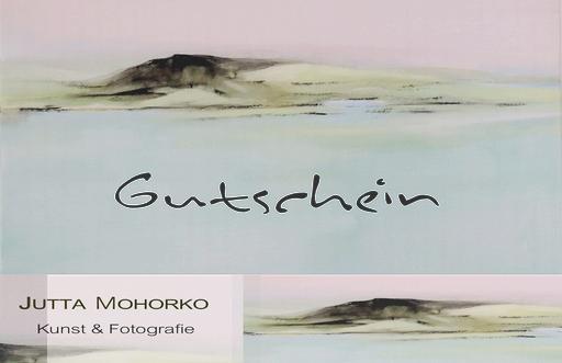 Gutschein Kunst - Innenseite