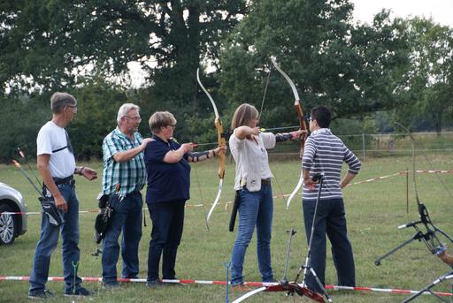 Bogenschießen mit Sportlern des TV Jahn Walsrode