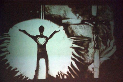 Sandmalkunst von Angelika Schmitz
