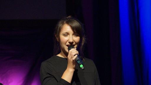 Tolle Moderatorin: Manuela Hees