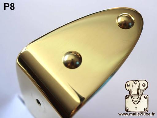 Clou tête bombée laiton massif 8,3 mm malle de luxe