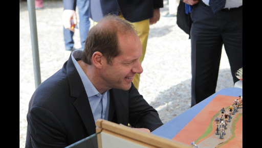 Christian Prudhomme (Photo : Dominique Touchard)