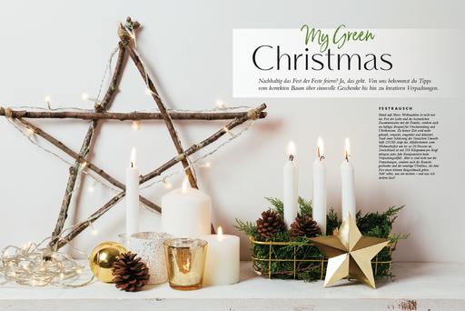 My GREEN Home, Grüne Weihnachten, Nachhaltigkeit Greenlifestyle