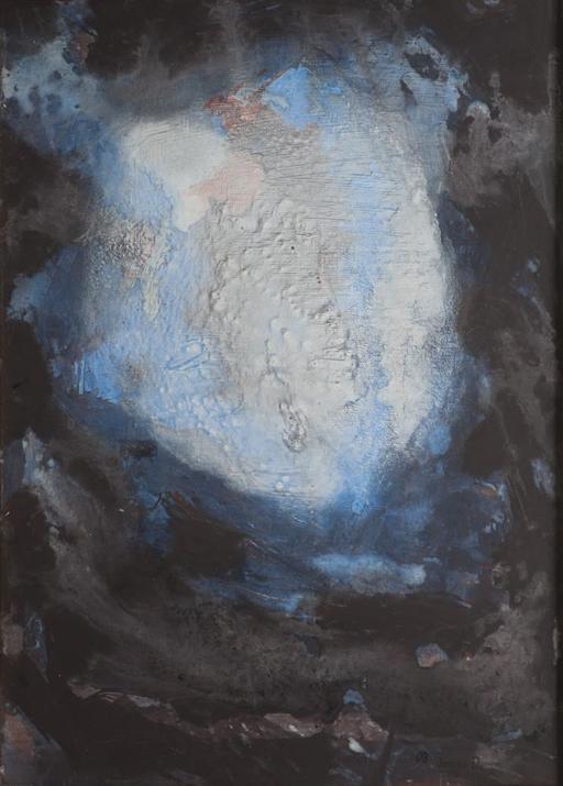 2008, Einer weit weg,  ganz nah, 70x50, Acryl-Leinwand