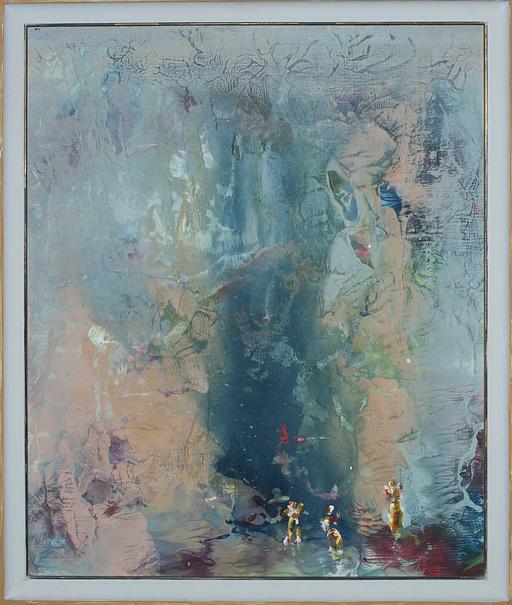 2012, die Quelle, 65x50, Acryl-Holz